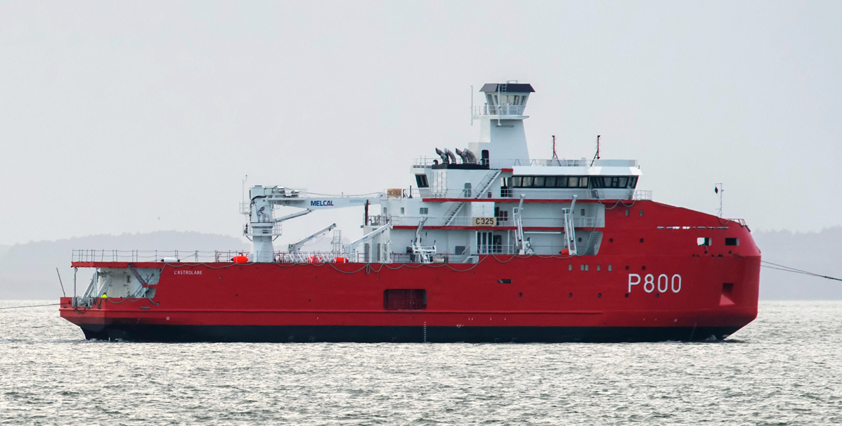 Polar Logistics Vessel